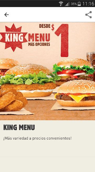 Puerto Rico Burger King App Screen3