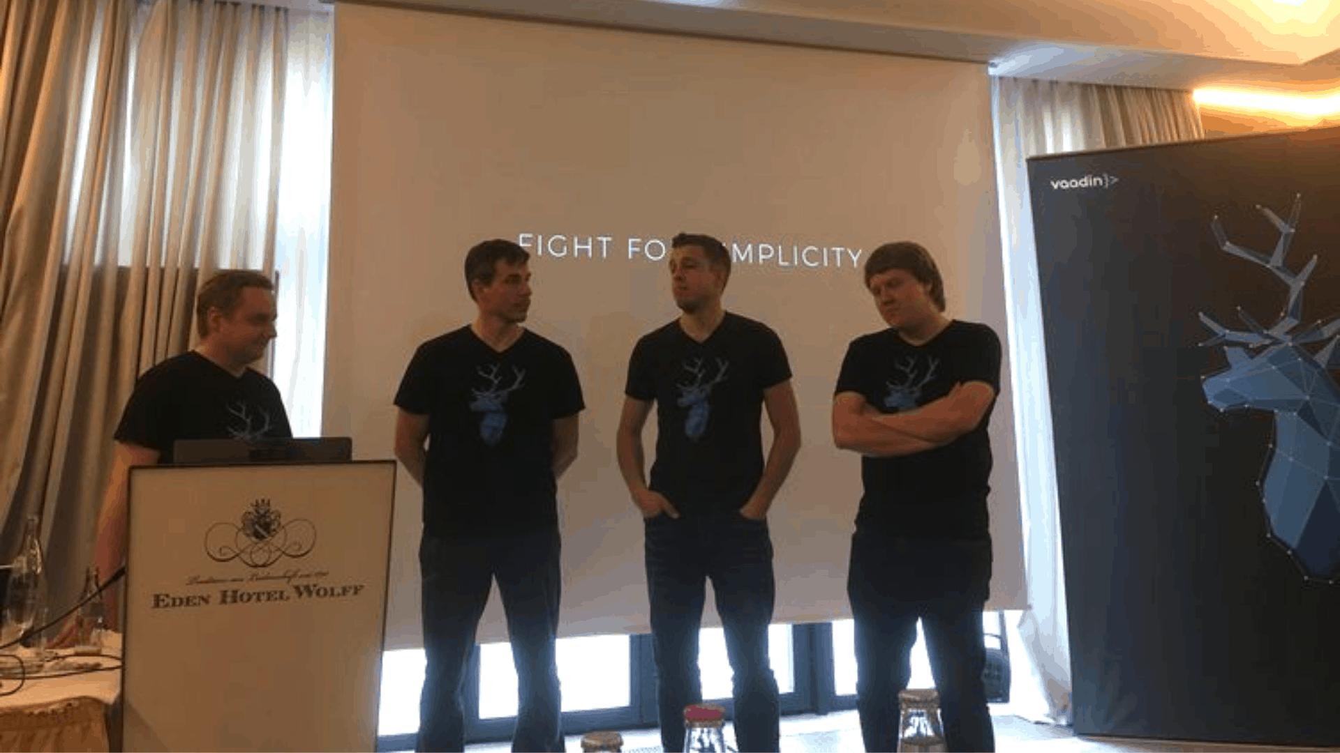 x-root zu Besuch auf dem Vaadin DevDay 2018