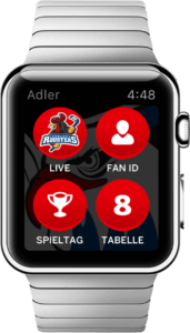 AMFA als Watch-App by x-root Screen