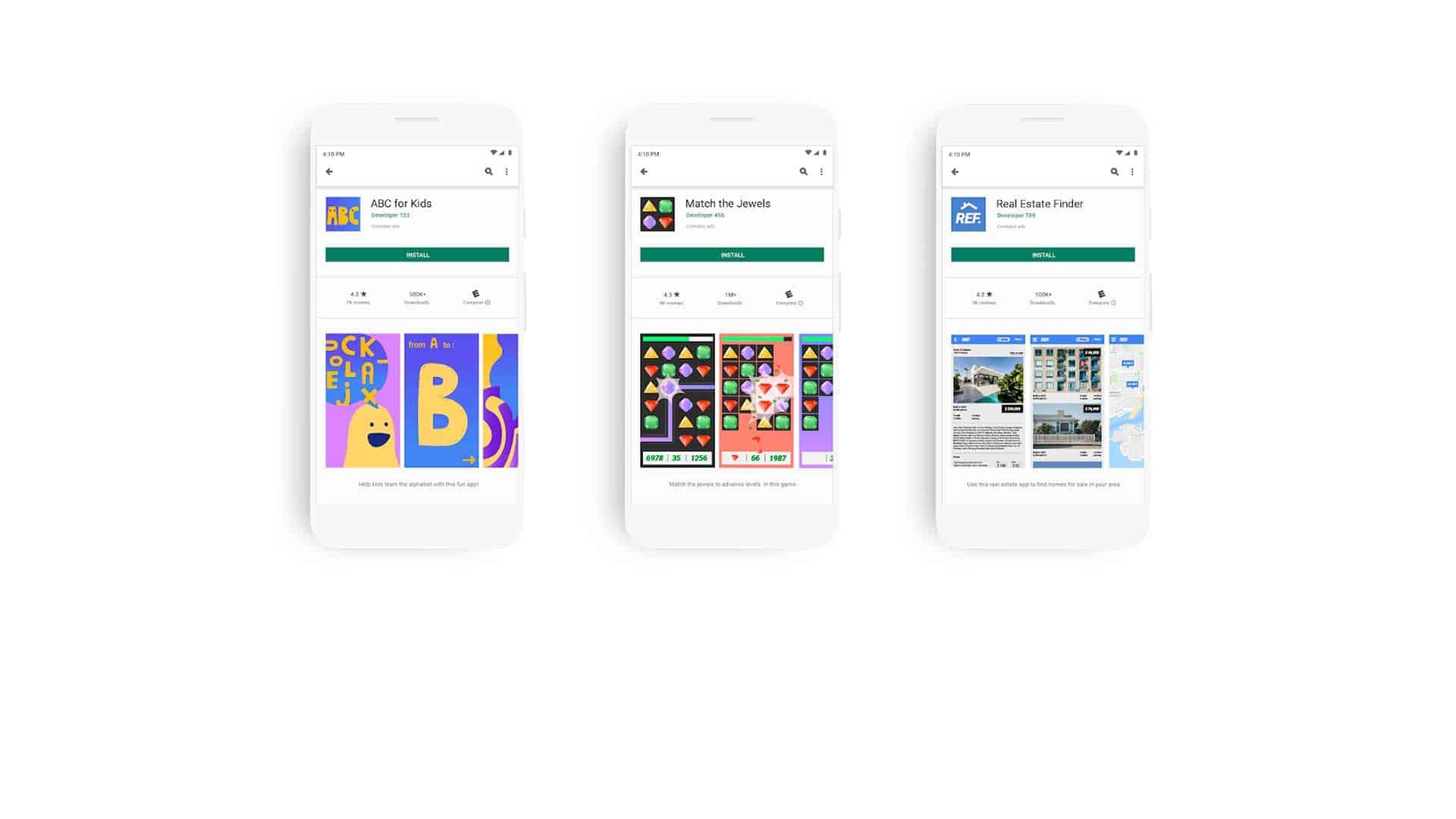 Kategorisierung nach Alterseinstufung Android Apps