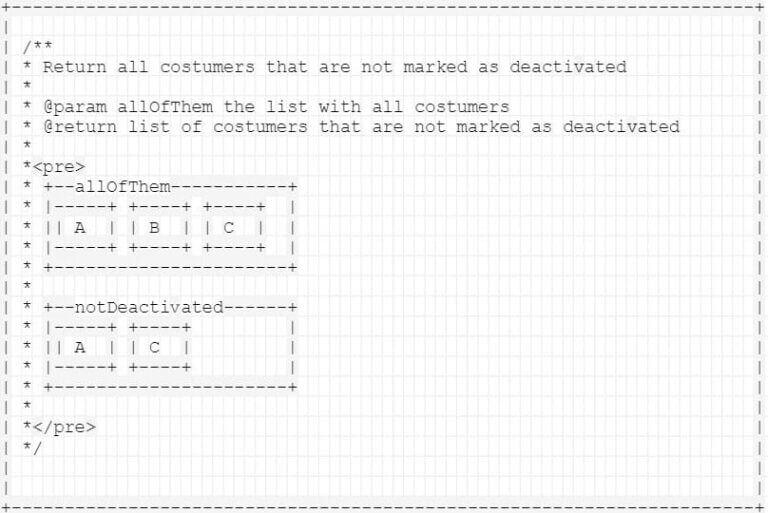 ASCII-Art in der Dokumentation   x-root Software GmbH